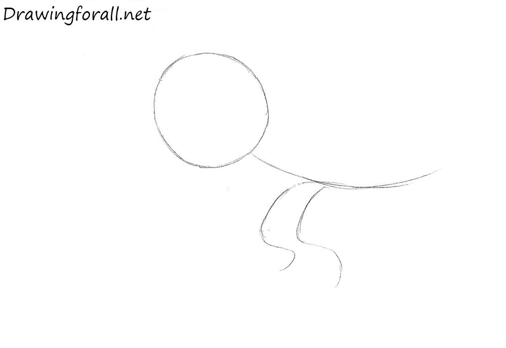 how to draw Gon