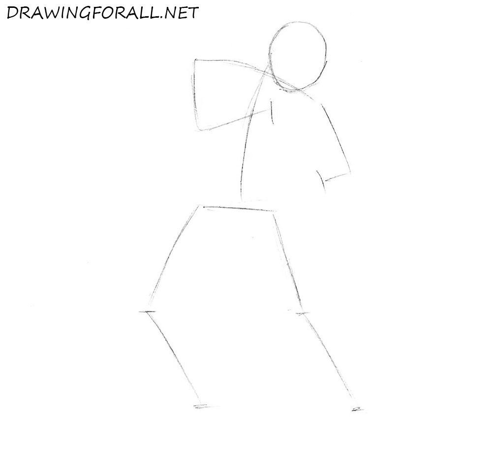 how to draw ryu