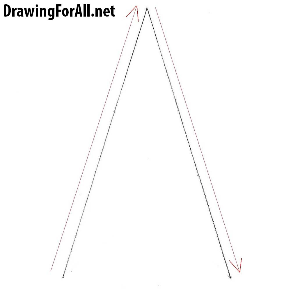 how to draw a star step by step
