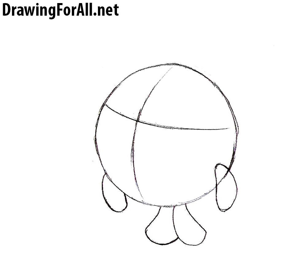 how to draw hedgehog step by step