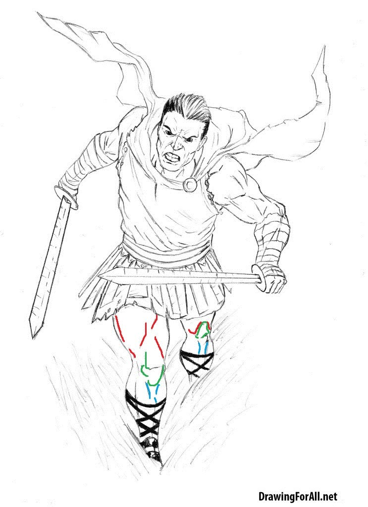 how-to-draw-a-roman-warrior-step-by-step-743x1024
