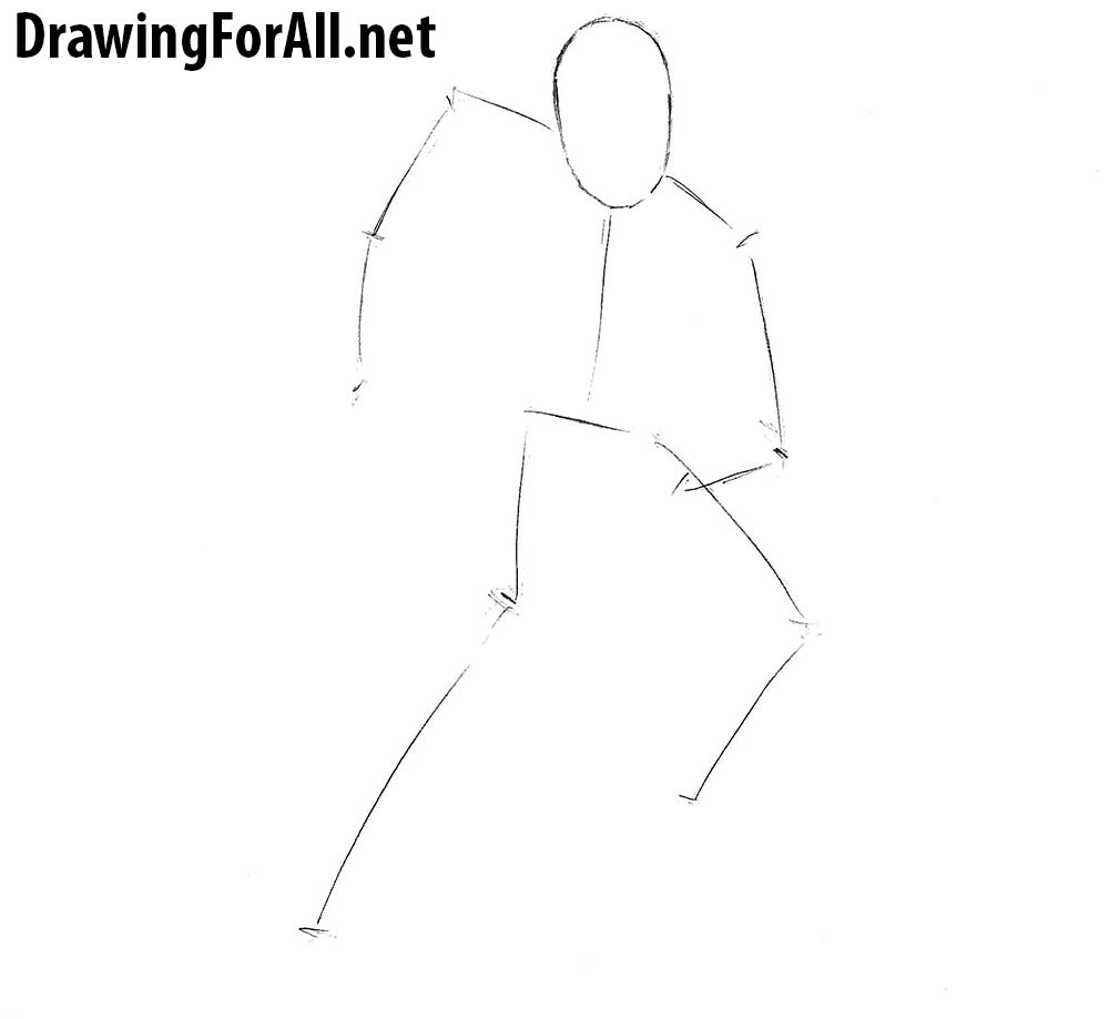 how to draw classic Iron Man step by step