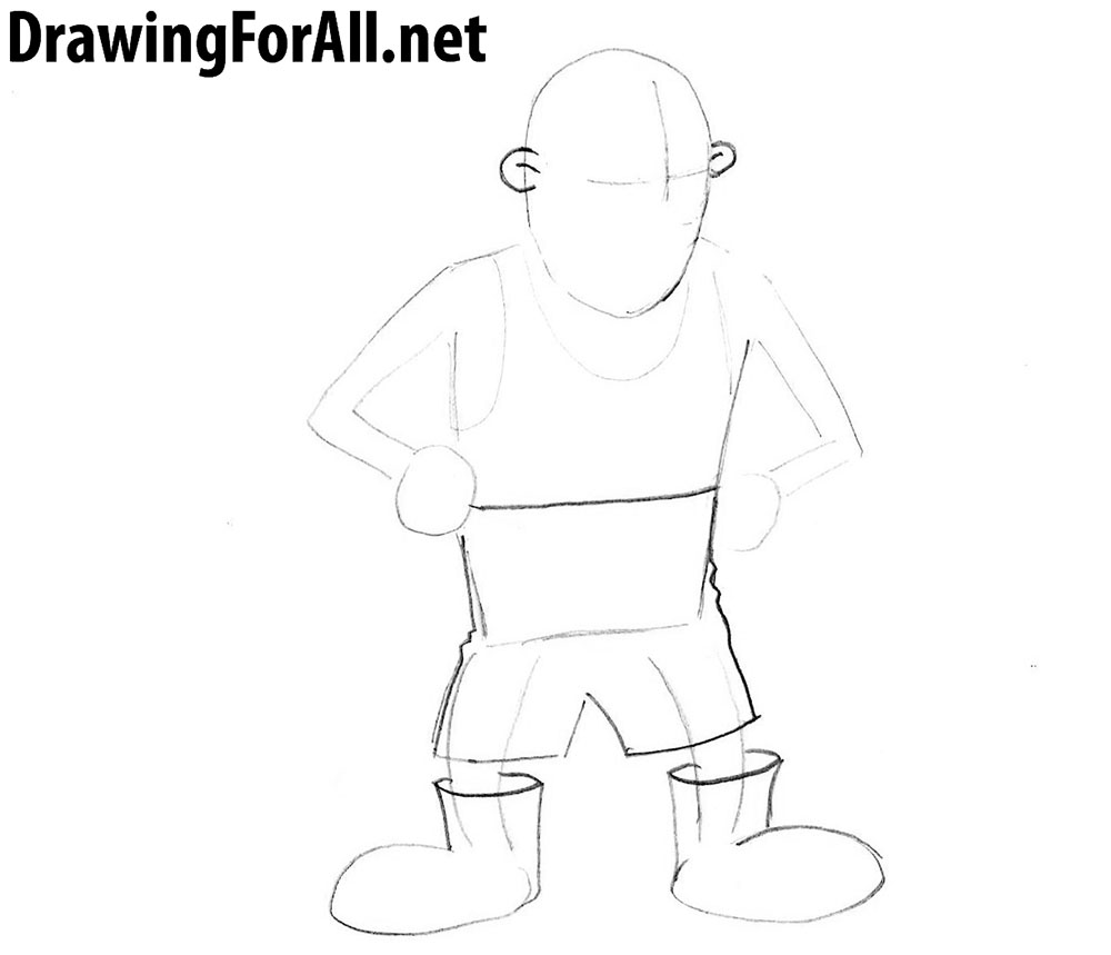How To Draw A Siberian Grandpa Drawingforall Net