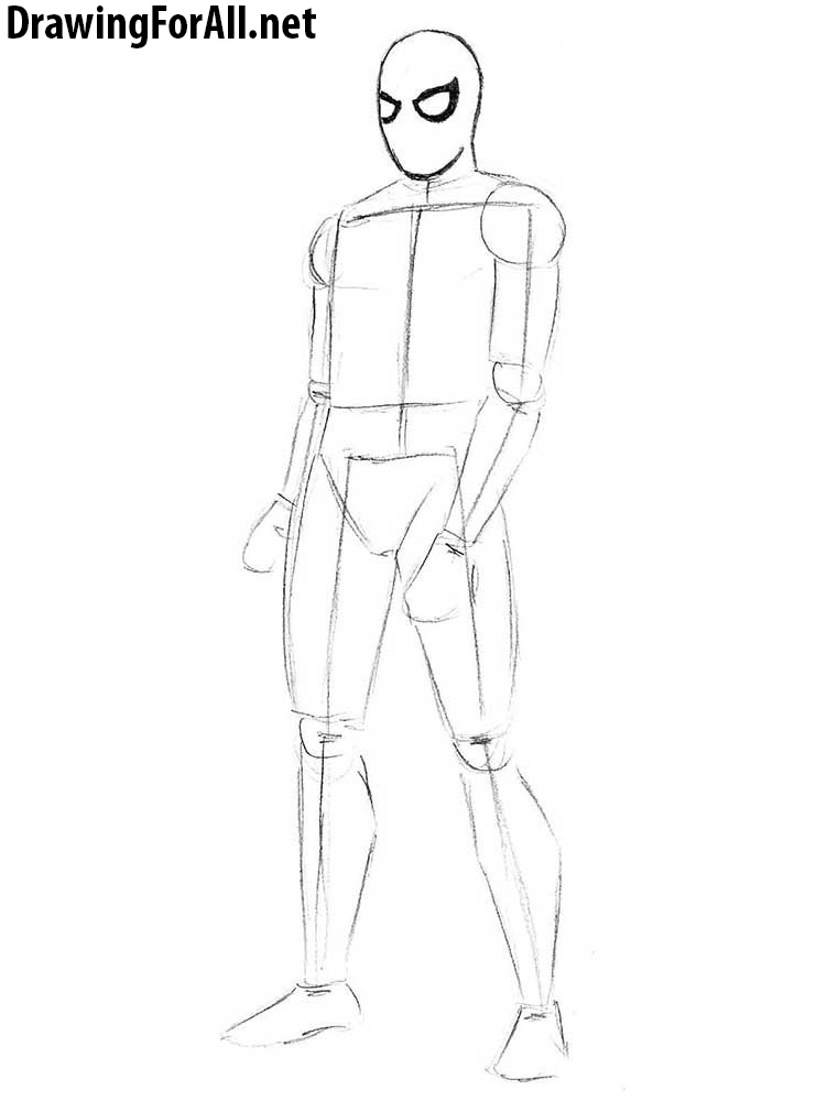 spiderman drawing tutorial