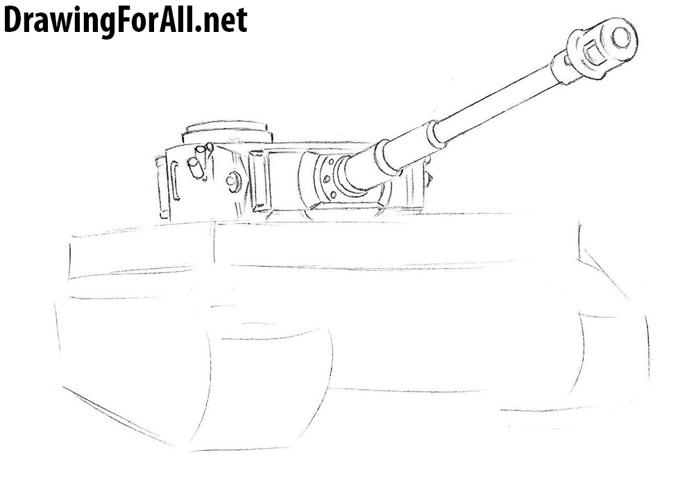 how to draw tanks fast