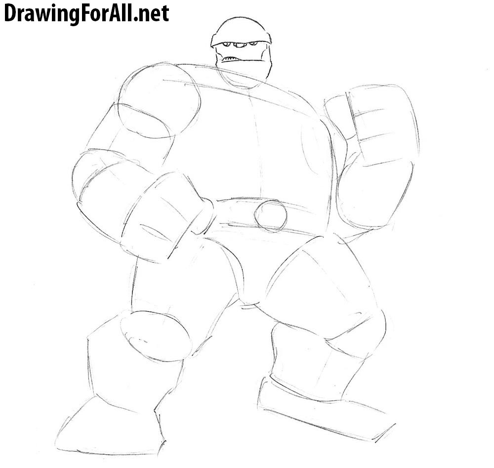 how to draw the thing
