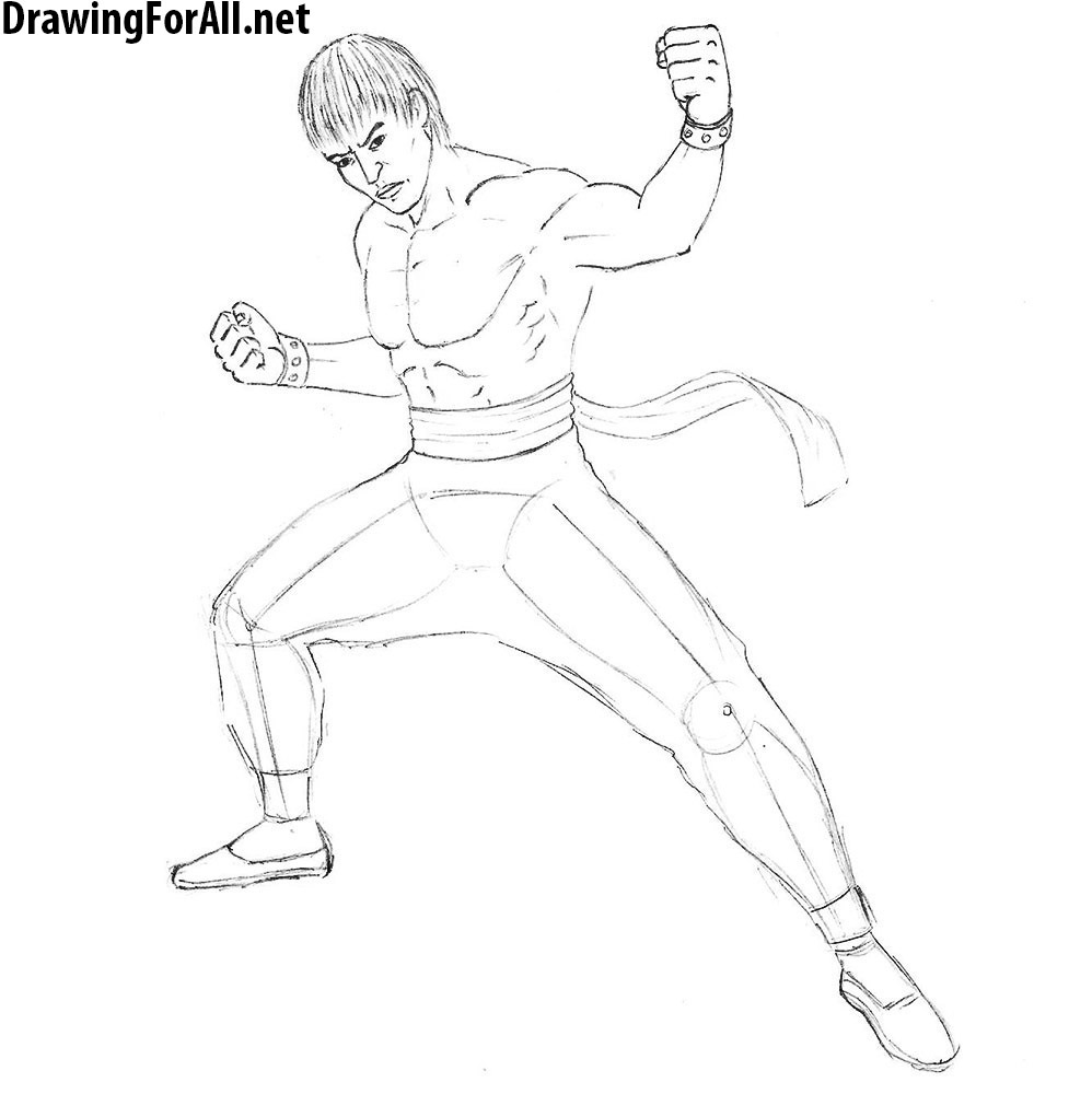 how to draw tekken