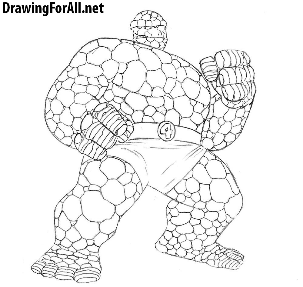 the thing drawing tutorial