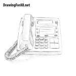 How to Draw a Phone