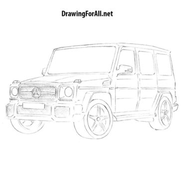 How to Draw Mercedes-Benz G-Class