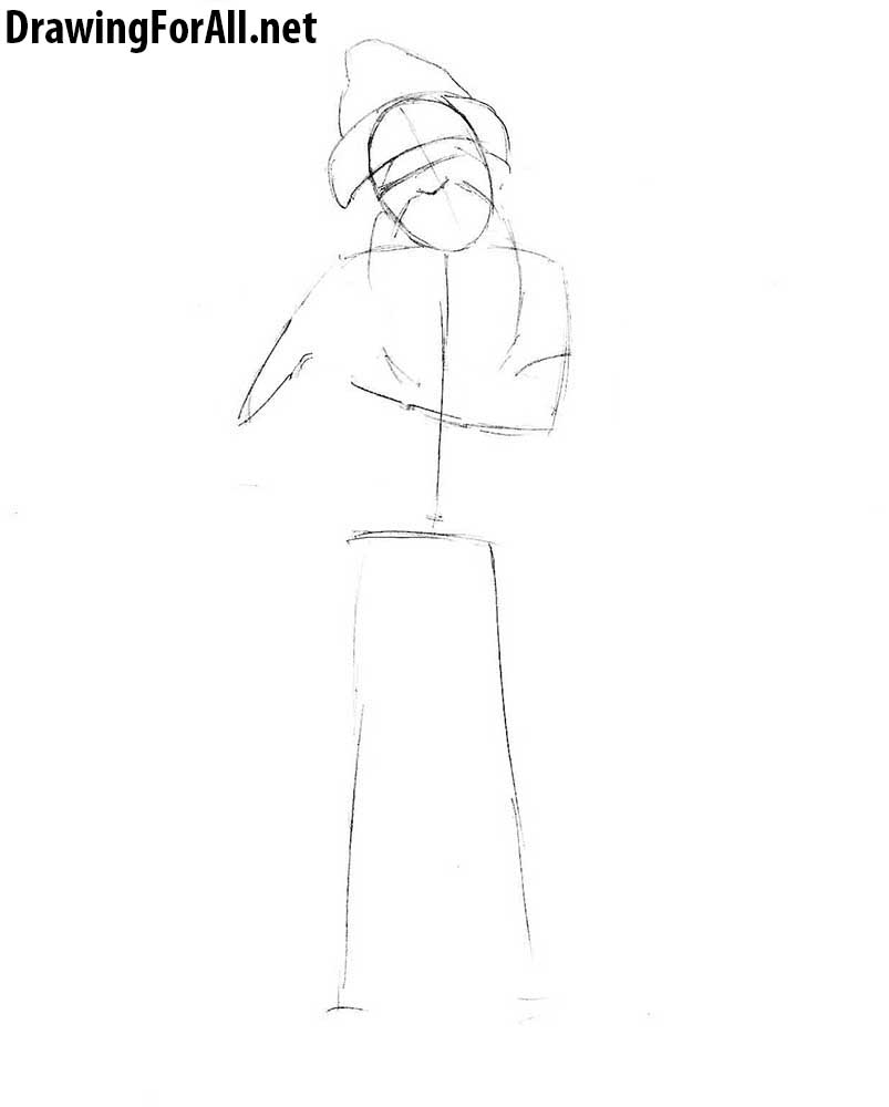 learn how to draw ded moroz