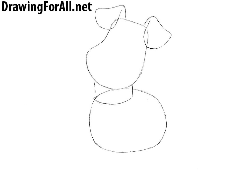 How to Draw Max from The Secret Life of Pets for kids