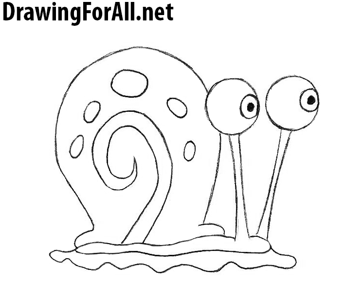 how to draw gary