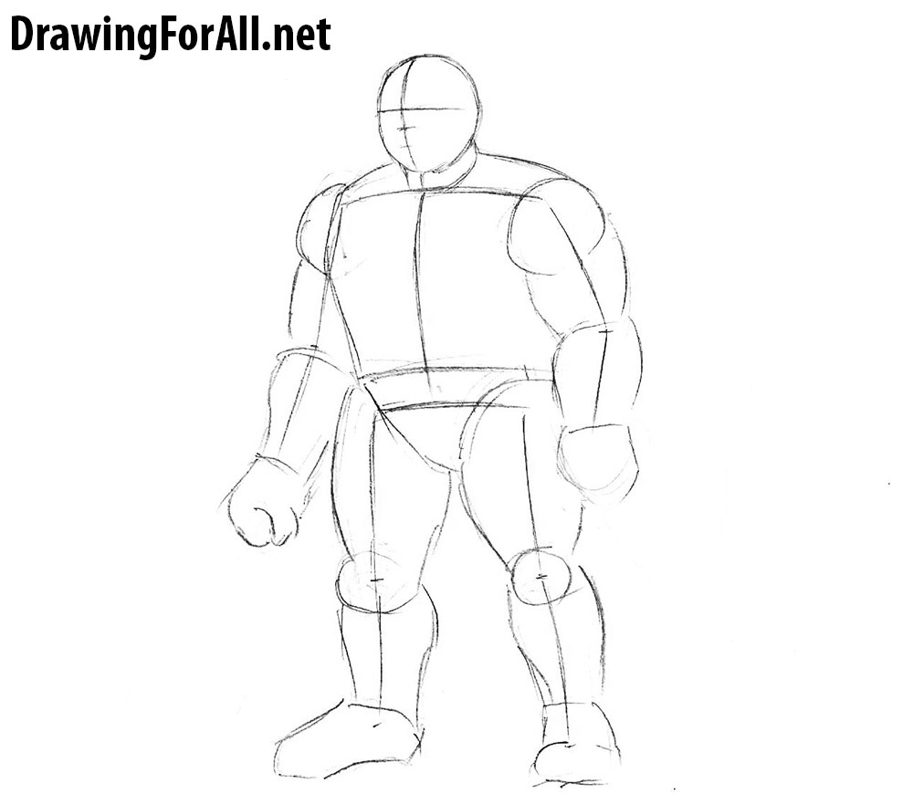 how to draw a dwarf