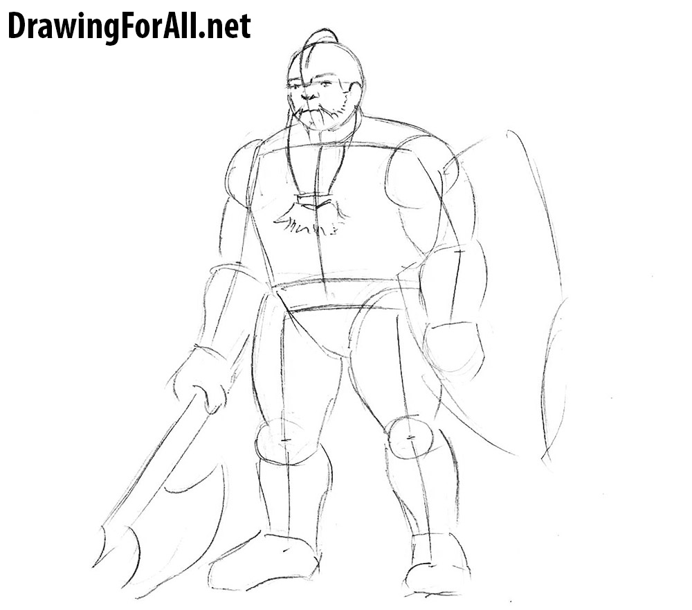 how to draw a dwarves