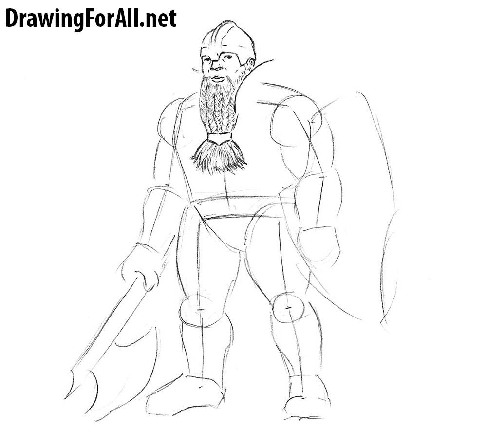 dwarf drawing