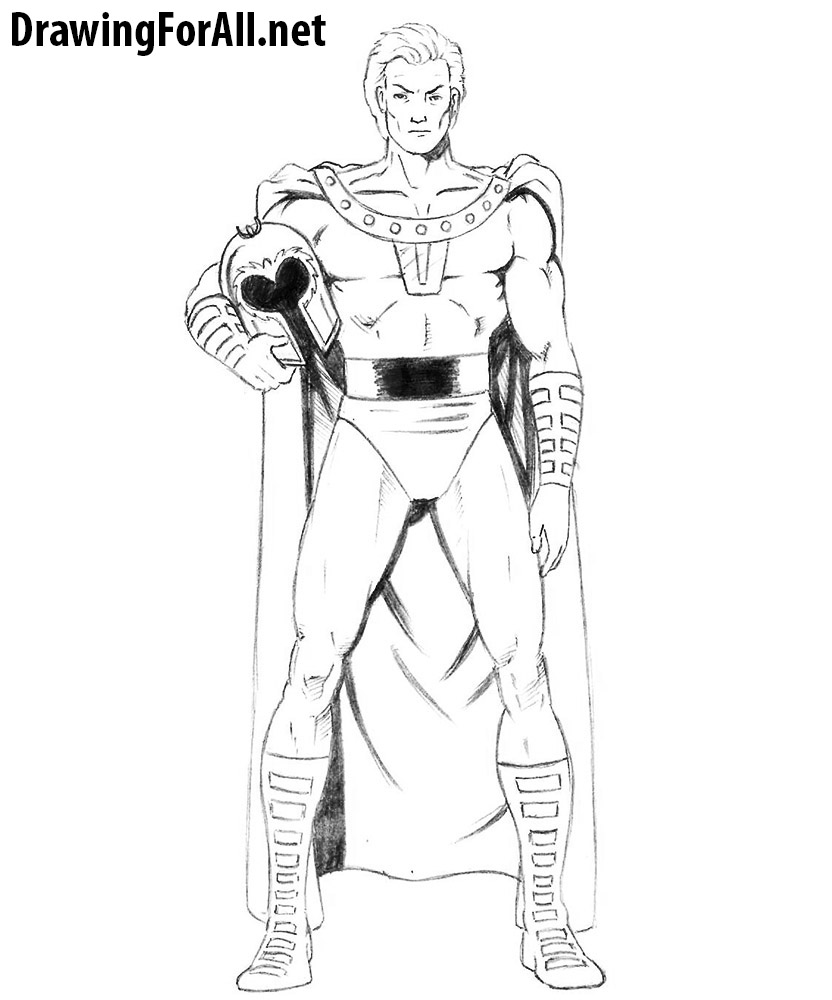 how to draw magneto drawingforall net