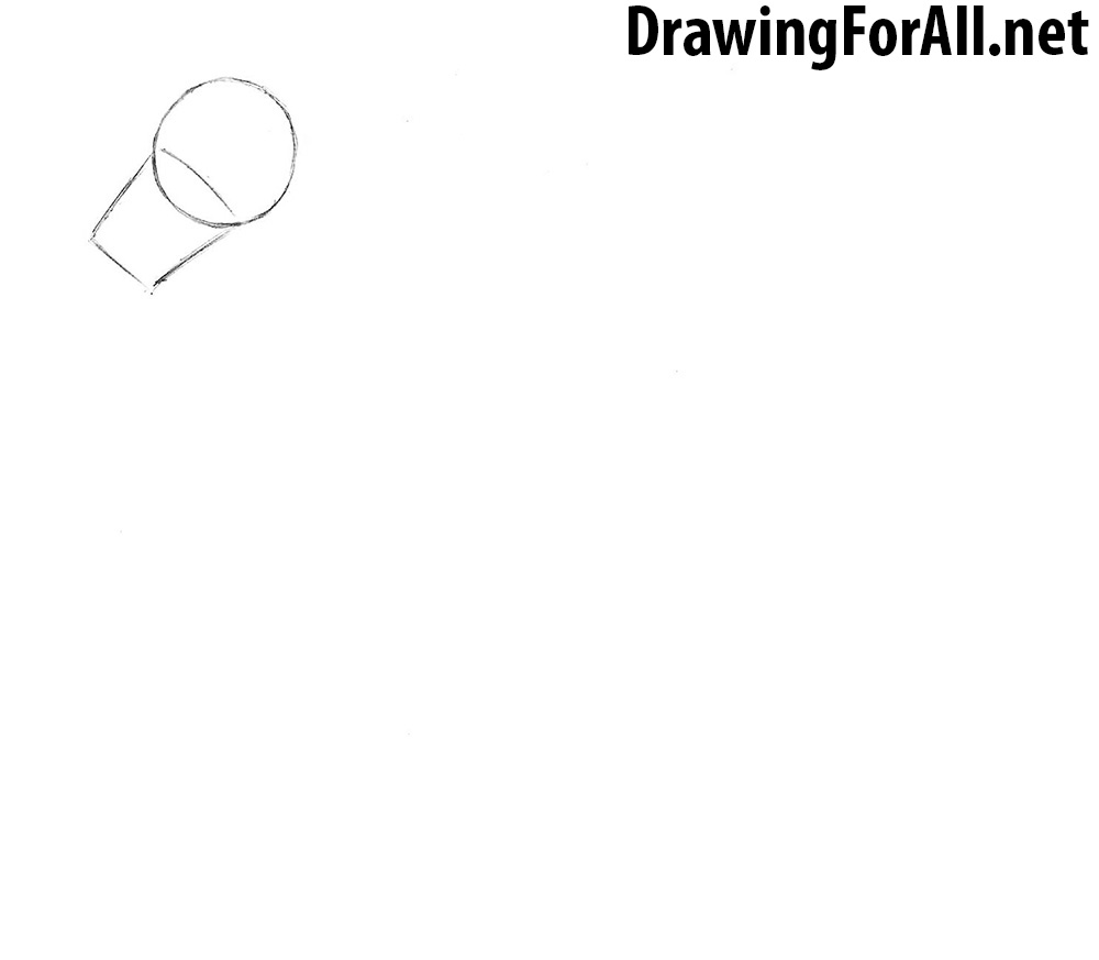 how to draw a race horse step by step