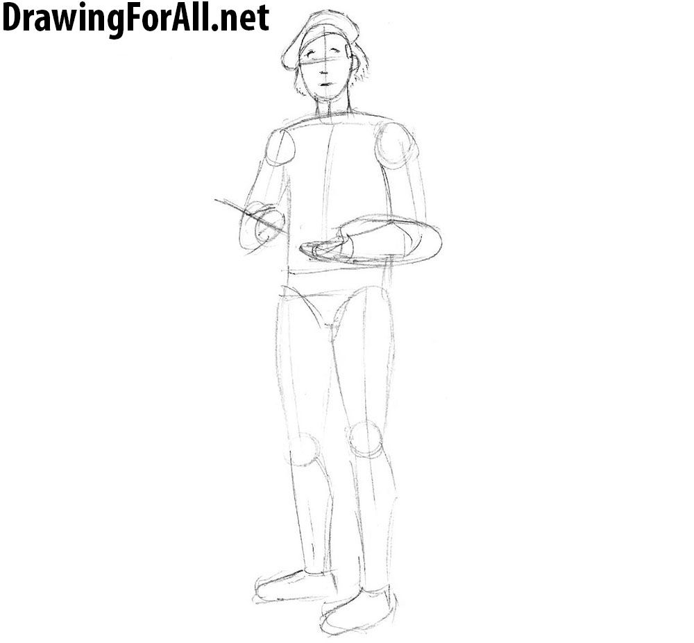 learn how to draw an artist