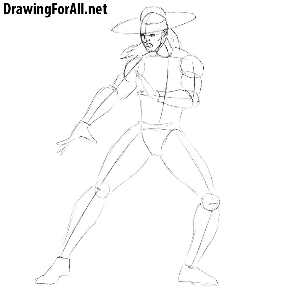 learn how to draw kung lao