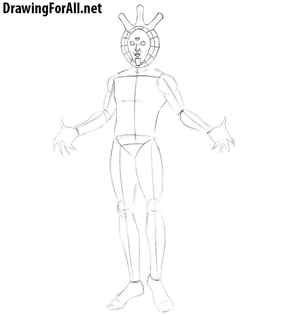 learn how to draw dagoth ur