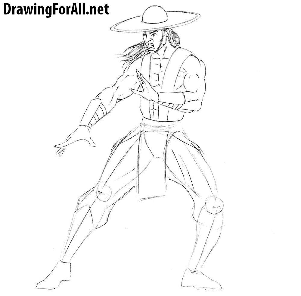 kung lao drawing tutorial