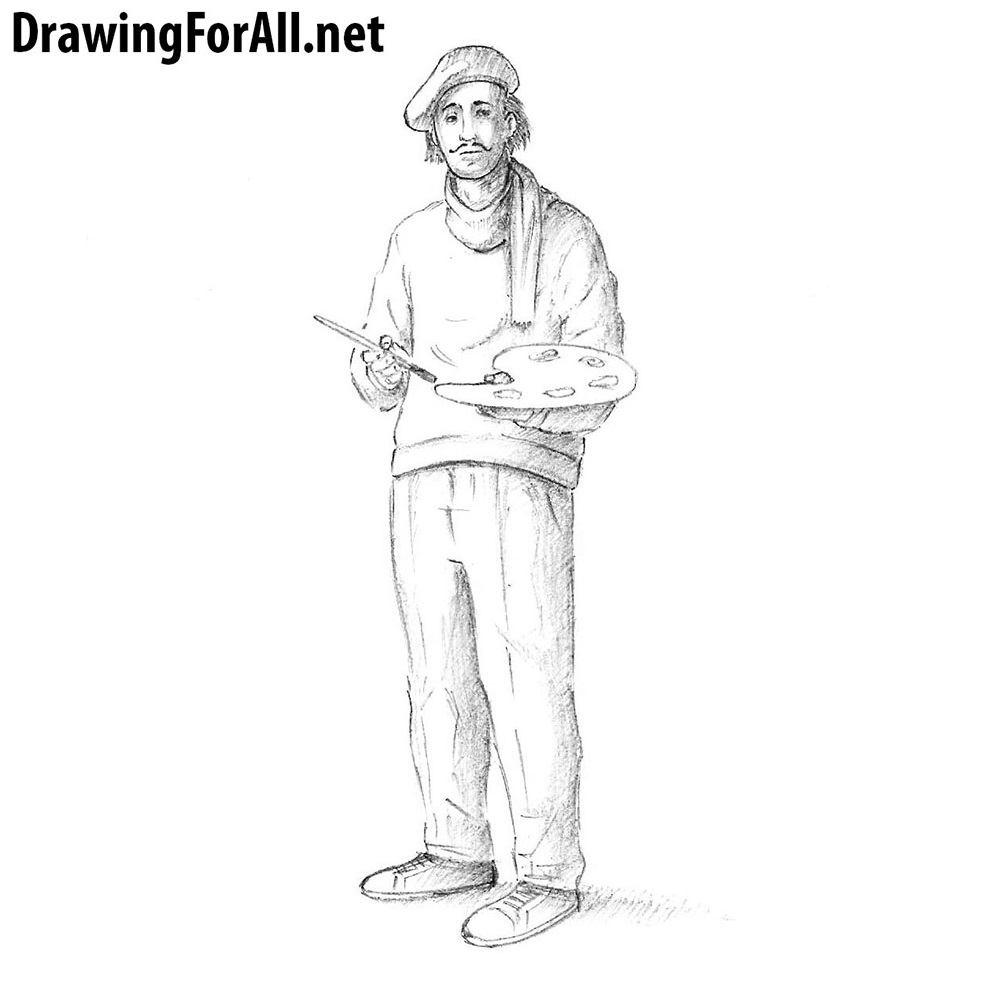 How To Draw A Businessman Drawingforall Net