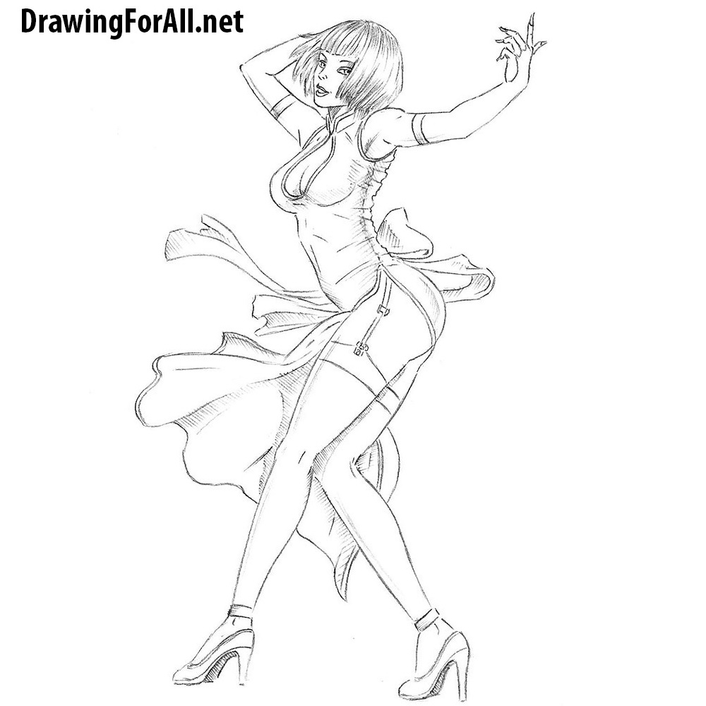 How to Draw Anna Williams