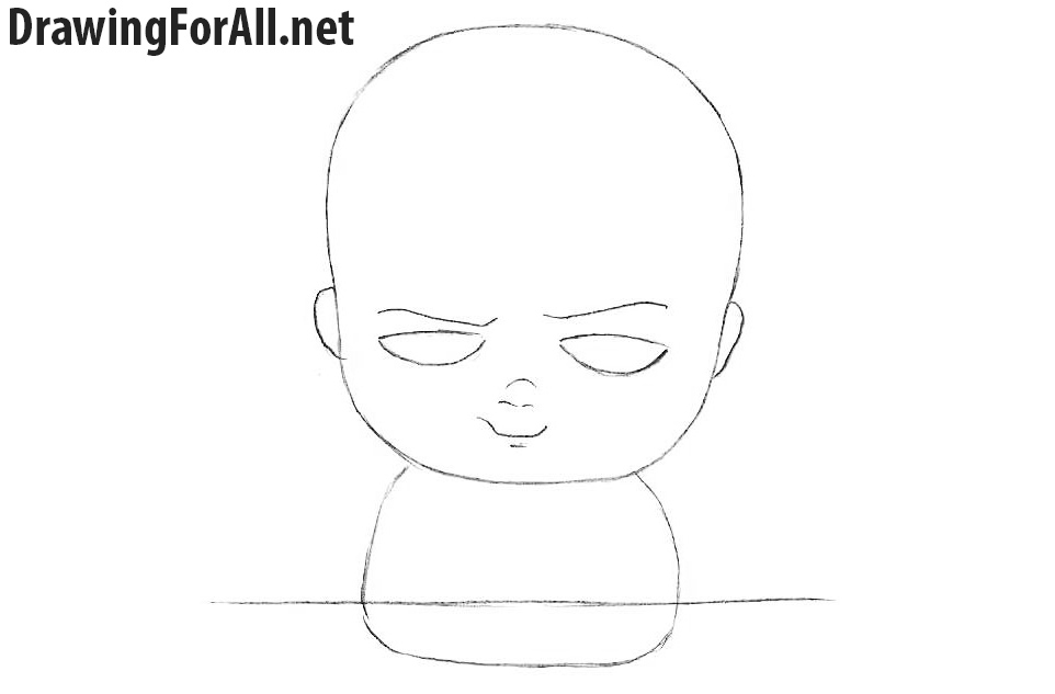 How to Draw Baby Boss step by step