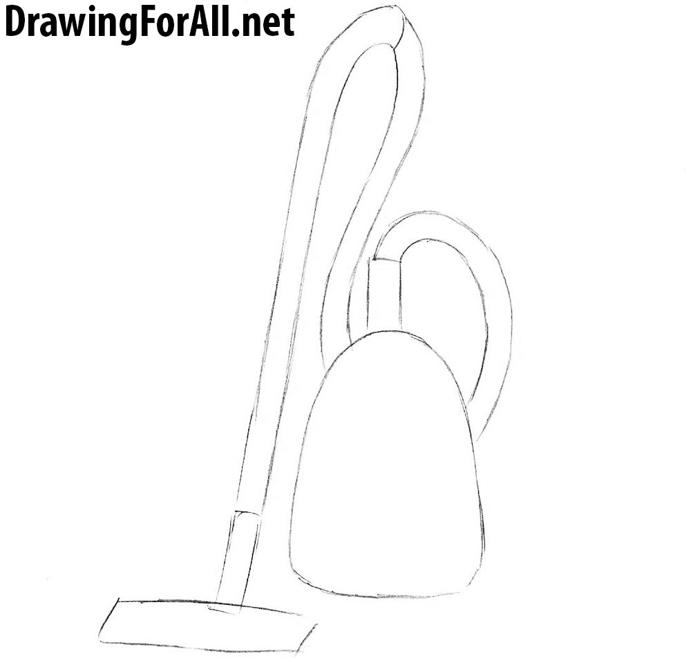 How To Draw A Vacuum Cleaner General Diagram