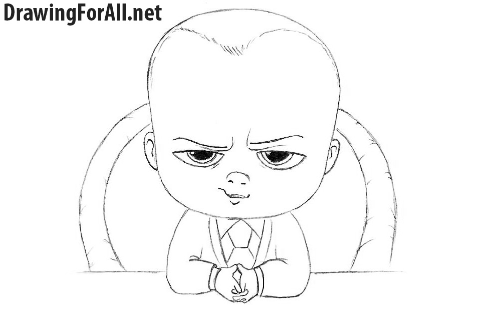 How to Draw Baby Boss