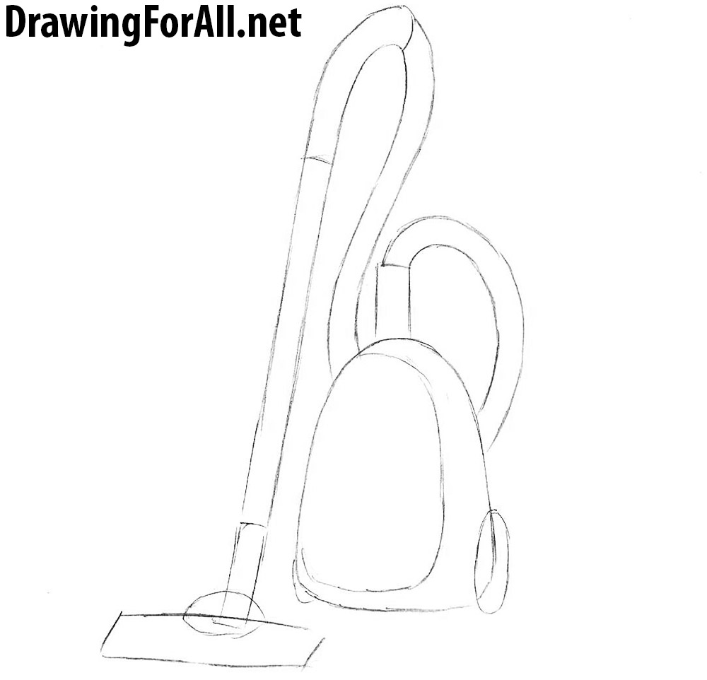 vacuum cleaner drawing
