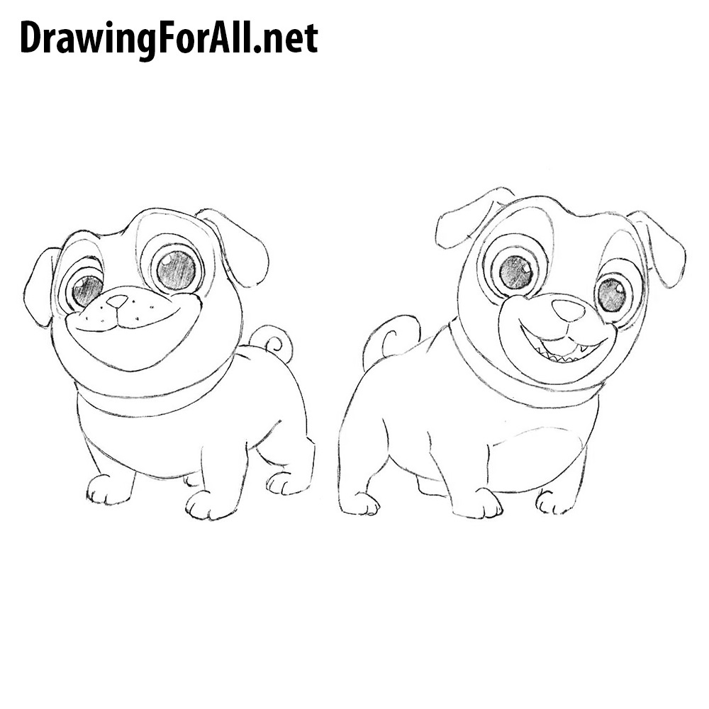 Uncategorized How To Draw A Puppy Dog how to draw puppy dog pals drawingforall net