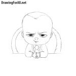 How to Draw The Boss Baby