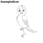 How to Draw Richard the Stork