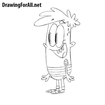 How to Draw Mikey Munroe from Bunsen is a Beast