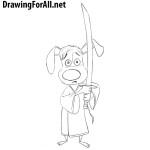 How to Draw Hank from Blazing Samurai