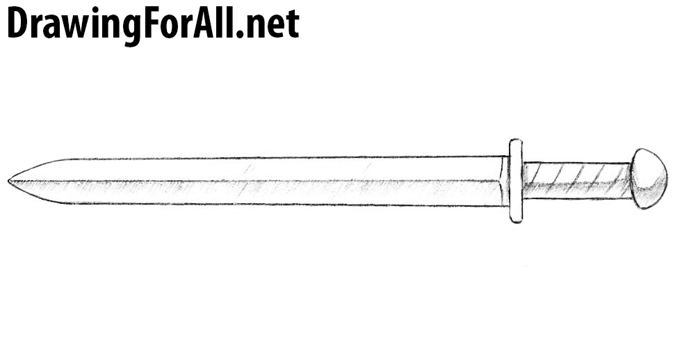 short sword drawing