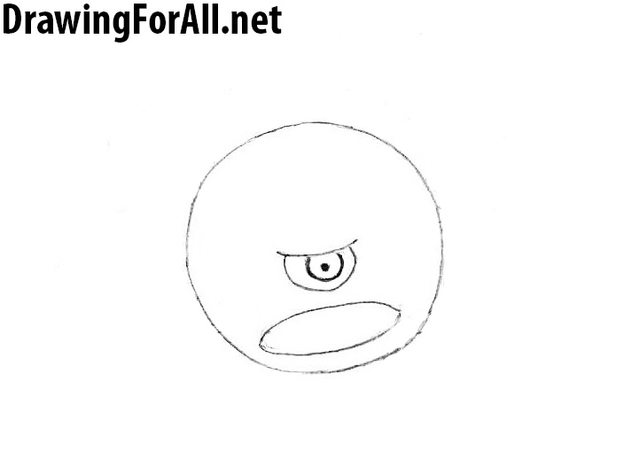 How to draw the beholder step by step