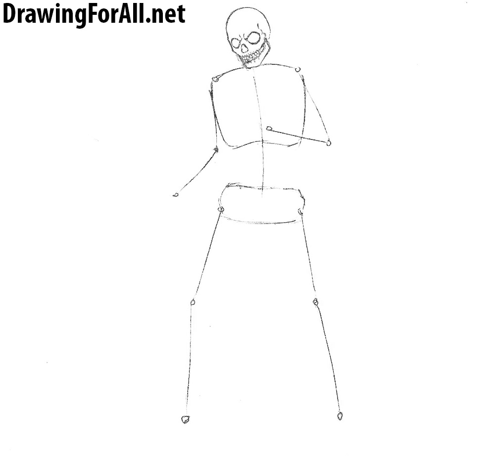 How to Draw an Undead Warrior