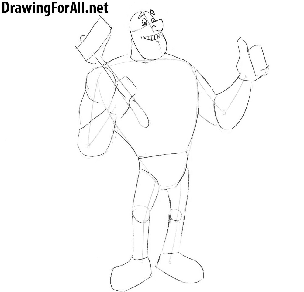 paul bunyan how to draw