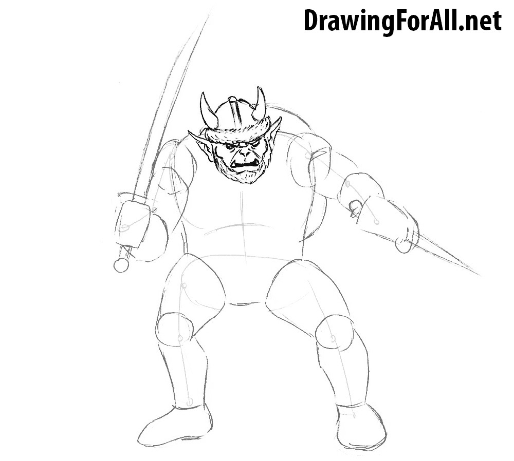 how to draw monsters from dnd