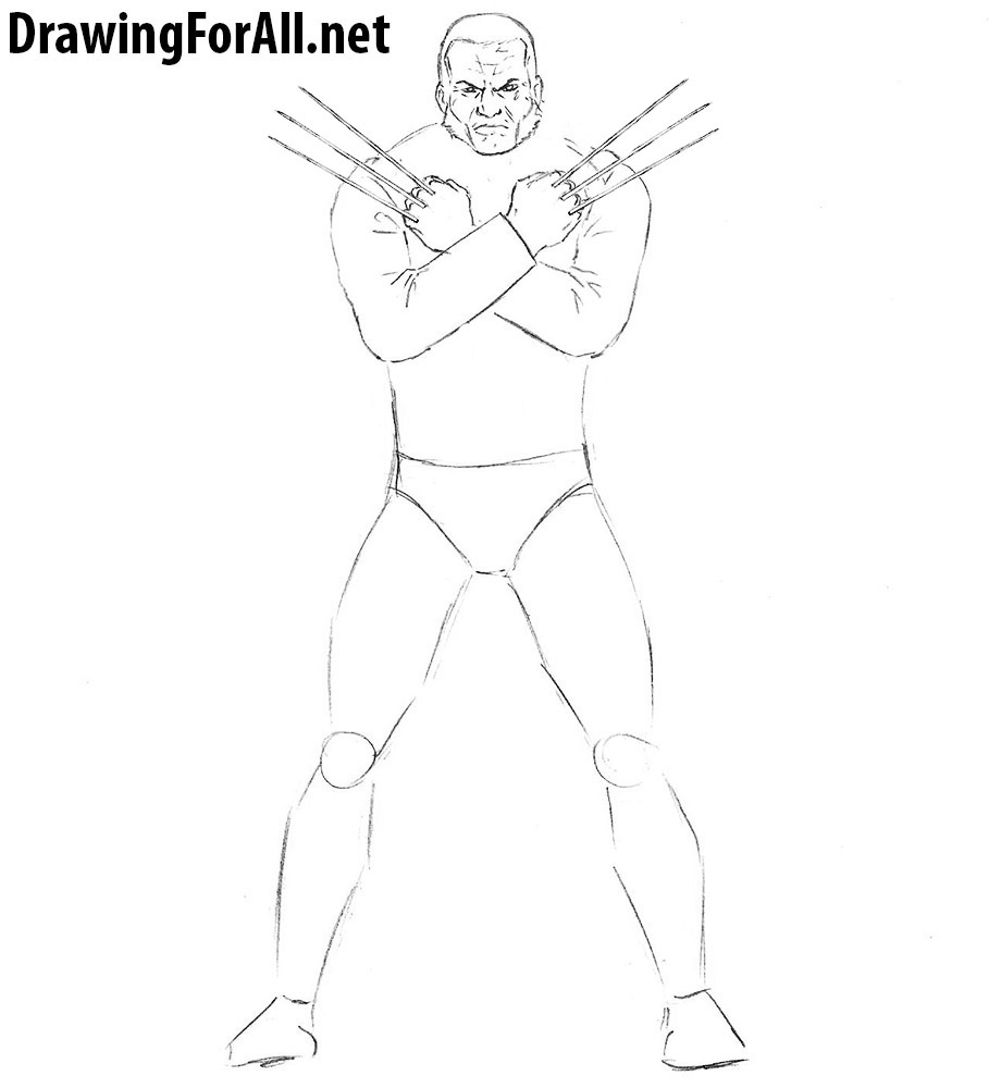 How to Draw Wolverine Logan