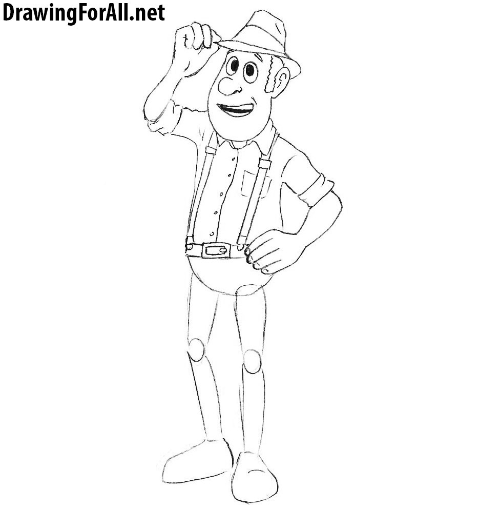 cartoon drawing lesson