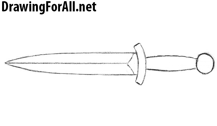 dagger drawing