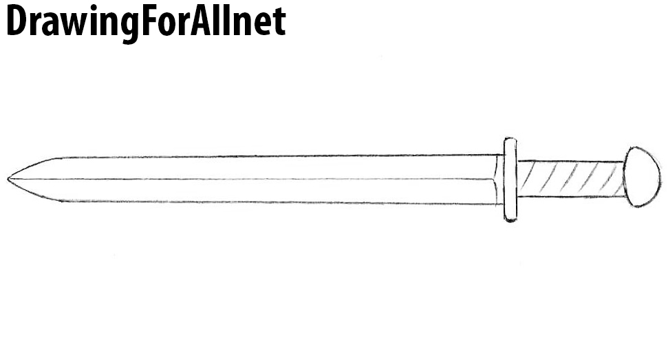 shortsword drawing