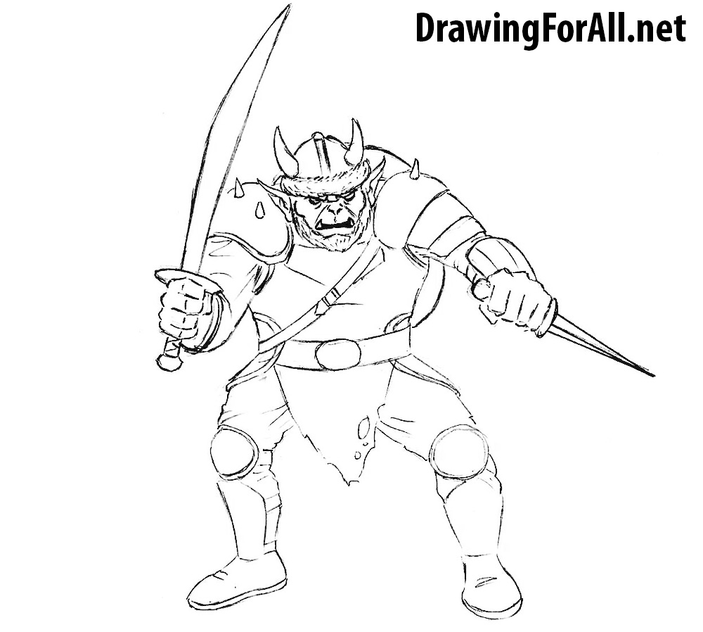 how to draw a fantasy castle step by step