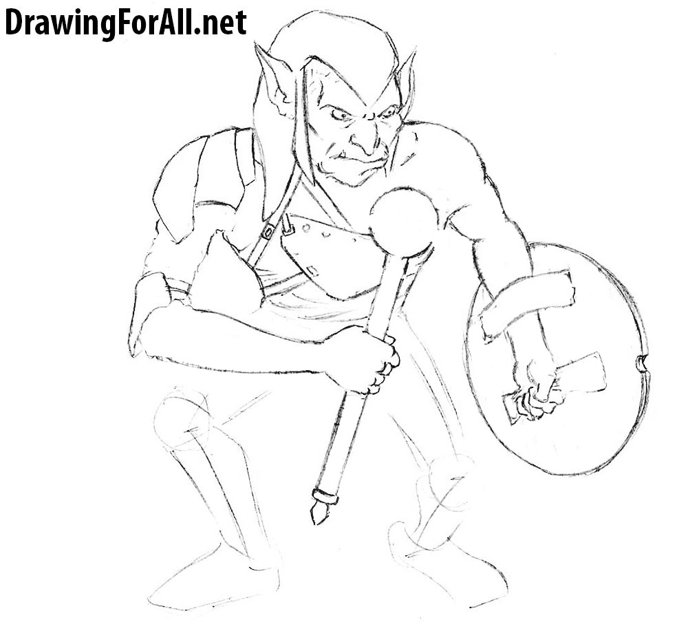 how to draw dungeons & dragons