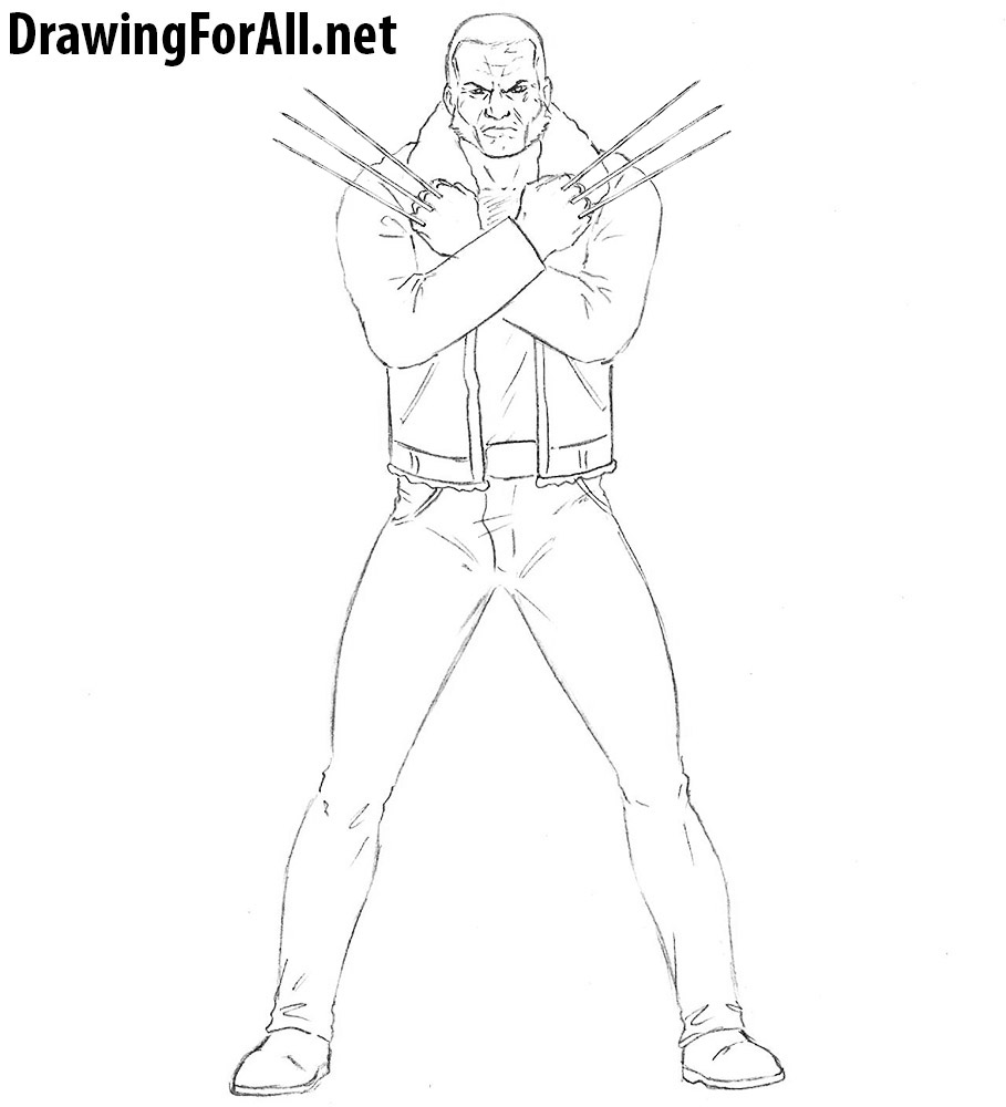 How to Draw Old Man Logan