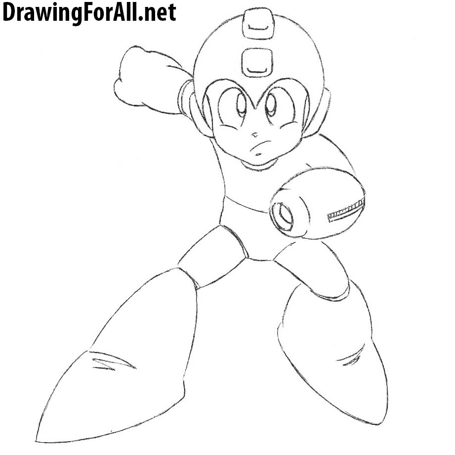 Learn to Draw Mega Man